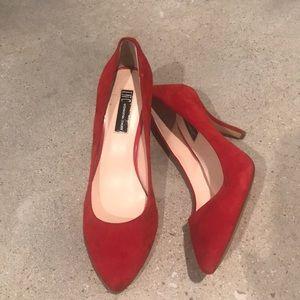 International Concepts Crimson Heels